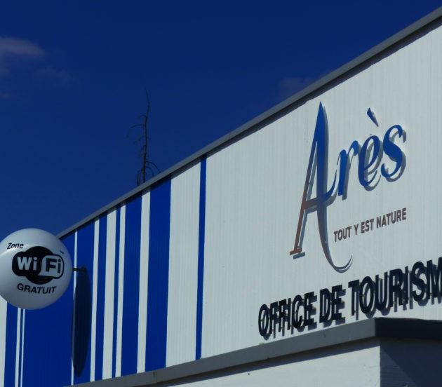 Point Wifi à l'office de tourisme d'Arès