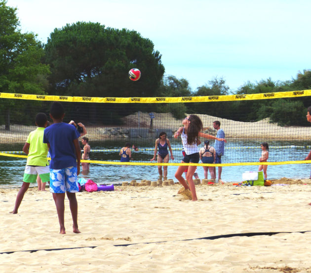 CAP33 Volley au plan de baignade de Saint Brice