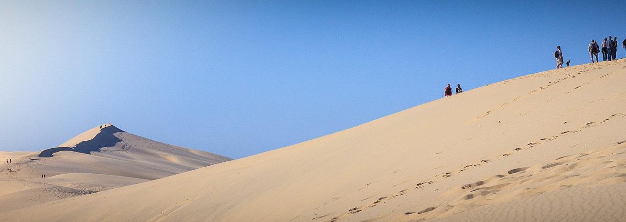 Vue panoramique sur la dune du Pilat.