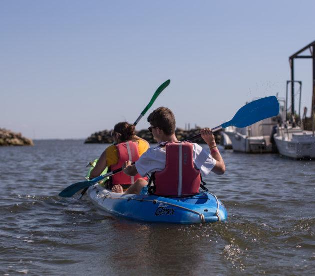 Sortie en canoë sur le Bassin d'Arcachon.