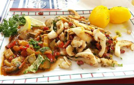 Plat du restaurant basque Le Makhila