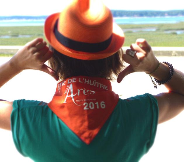 Bandana de la Fête de l'Huître d'Arès 2016
