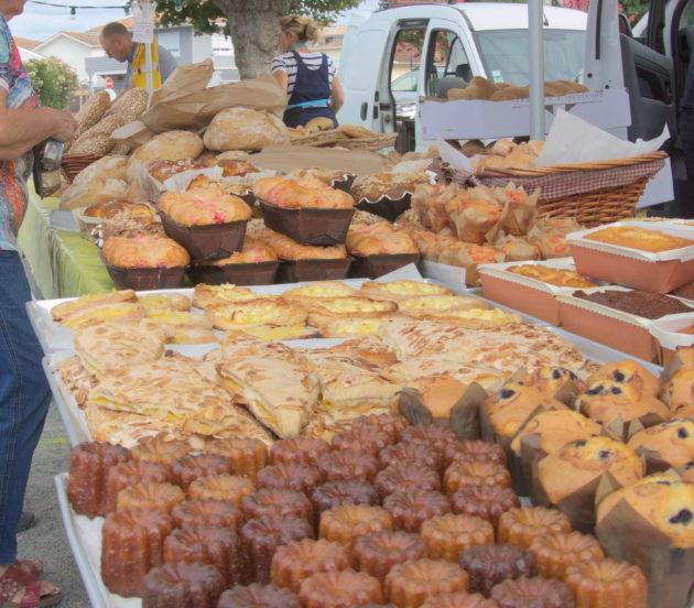Gourmandises aux marchés de producteurs d'Arès